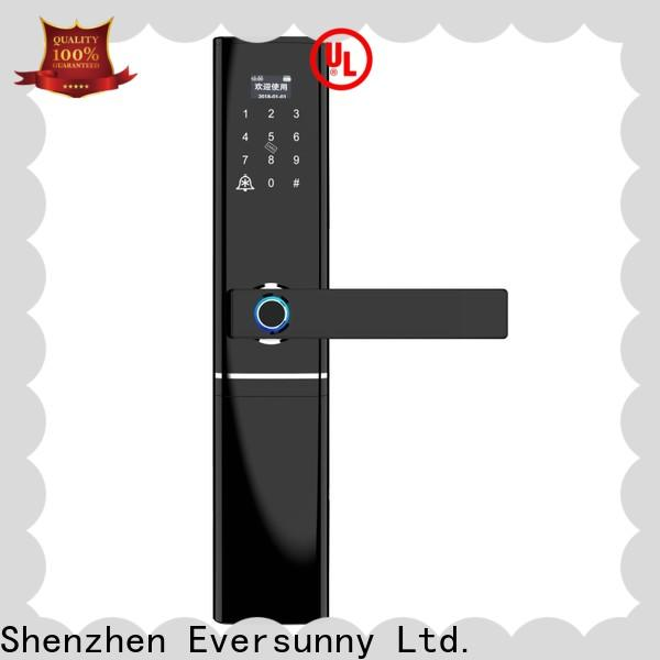 Eversunny reliable fingerprint door lock price touch screen for house