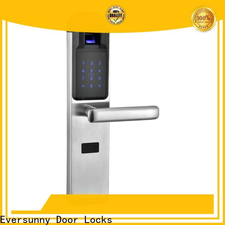 Eversunny fingerprint door lock price front door for residence