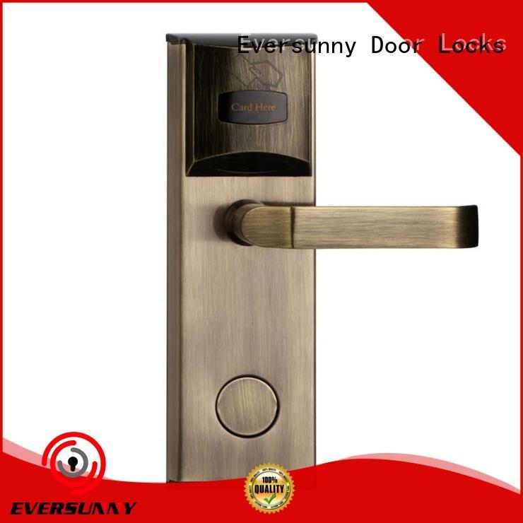 Electronic key card door lock price international standard for home