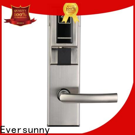 reliable card entry door locks stainless steel for hotel
