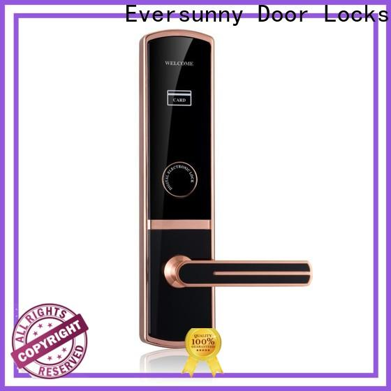 Eversunny key card access locks stainless steel for hotel