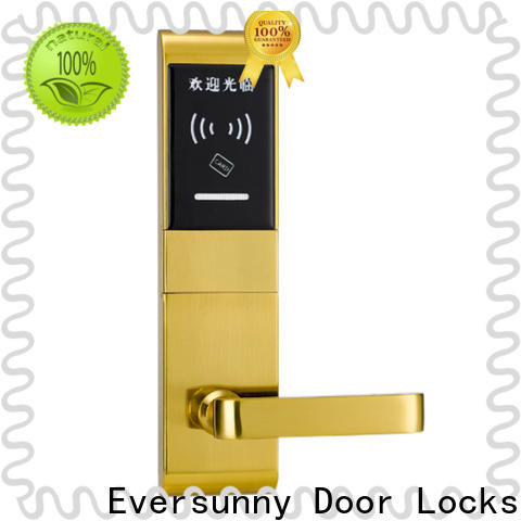 Eversunny convenient card lock system stainless steel for door