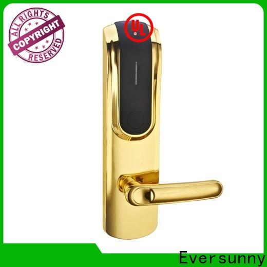 convenient electronic card lock system stainless steel for hotel