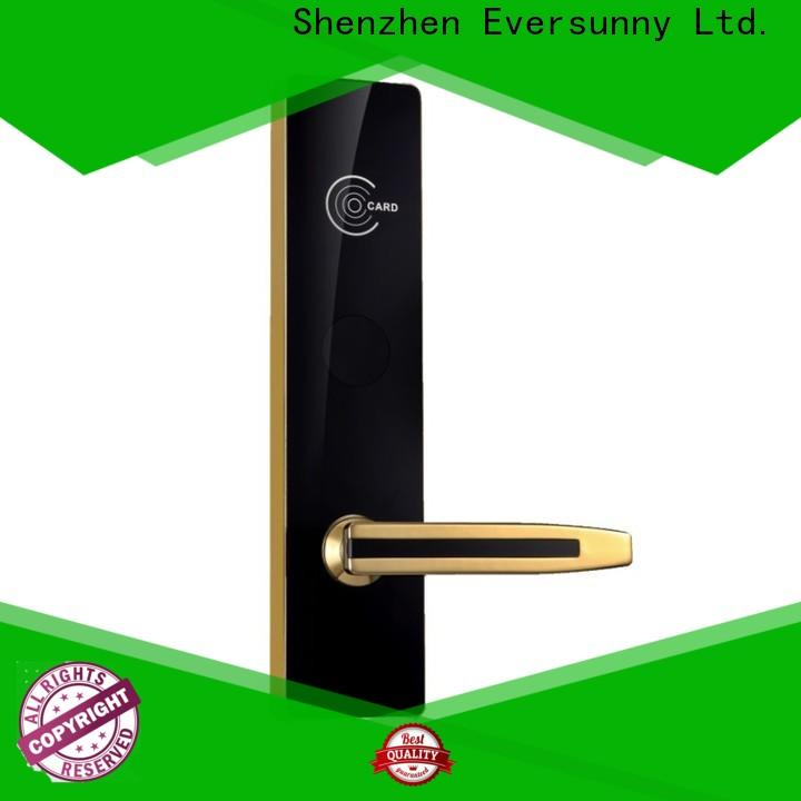 Eversunny card entry door locks stainless steel for home