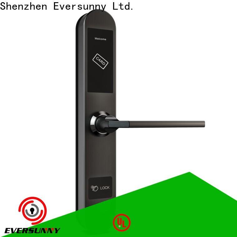 Eversunny smart key card lock system international standard for apartment