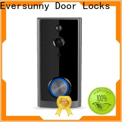 smart wireless wifi video doorbell with central management control system for home