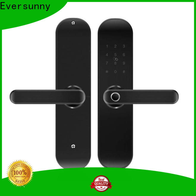Eversunny finger scan door lock front door for house