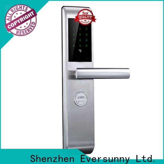 Eversunny front security lock touch screen for hotel