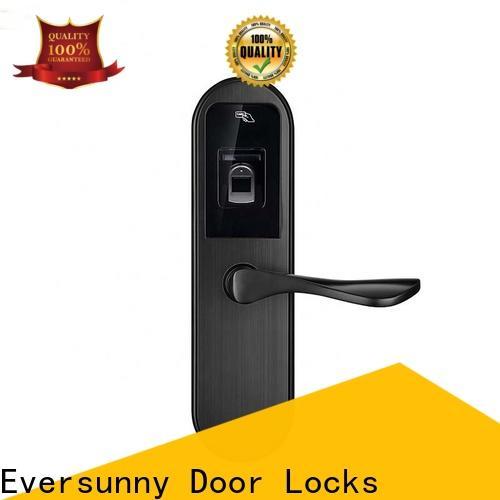 Eversunny fingerprint sensor lock entry system
