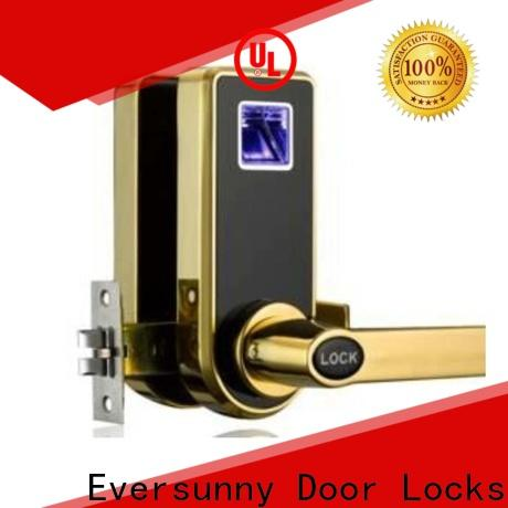 Eversunny fingerprint scanner lock deadbolt for home
