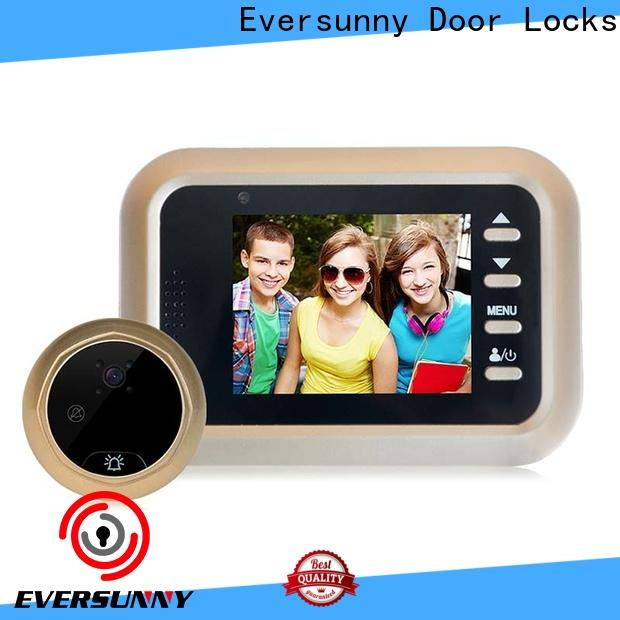 Eversunny multiple-digit digital door eye power-saving for broken bridge