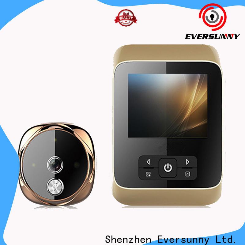 Eversunny electronic digital door viewer china Intelligent for aluminium door