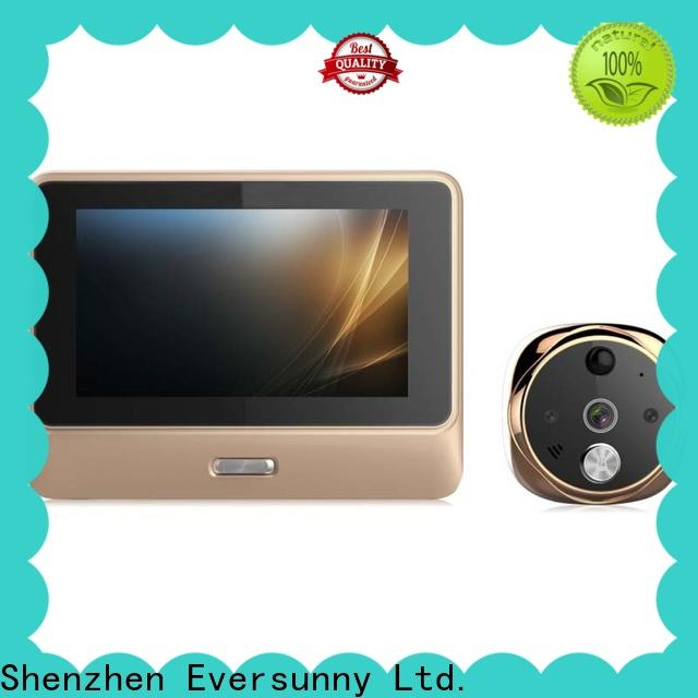Eversunny video peephole wifi compact structure for office