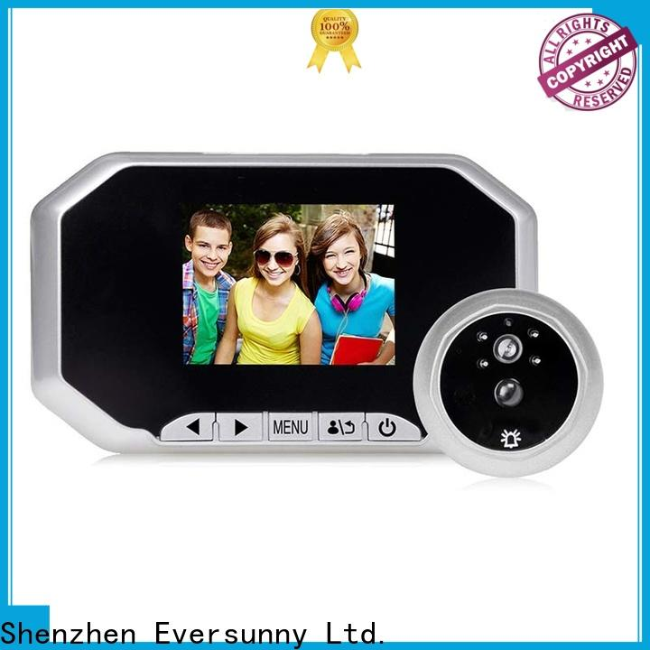 Eversunny security lcd peephole manufacturer for apartment