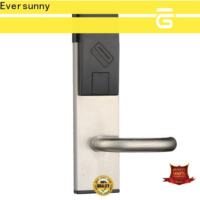 Electronic key card access locks stainless steel for home