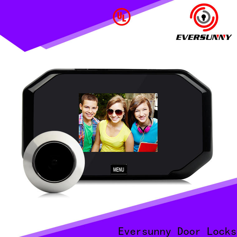 Smart hidden peephole security consultancy for apartment