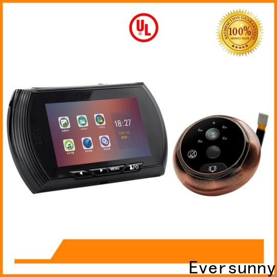 Eversunny professional digital peephole door viewer with motion sensor Large angle for home