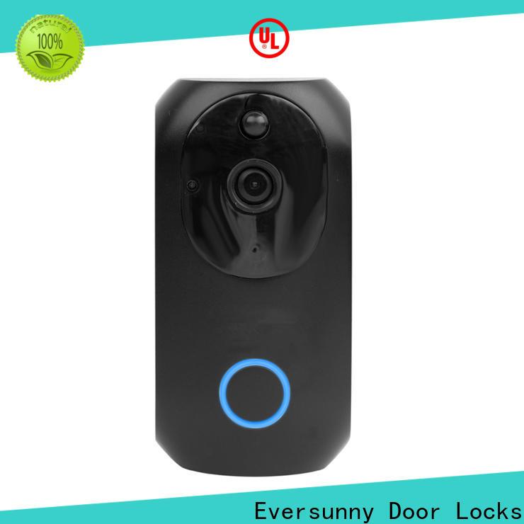 Eversunny convenient smart wifi doorbell hotel smart locks for hotel