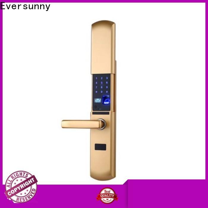 Eversunny fingerprint door lock price supplier for residence