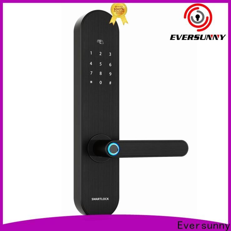Eversunny safe keyless front door lock supplier for villa