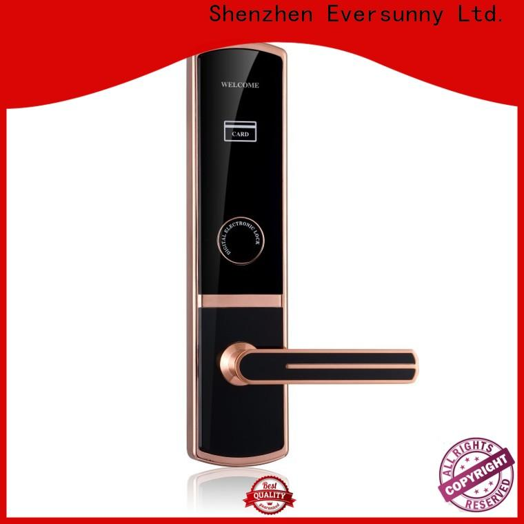 Eversunny convenient card lock hotel smart locks for home