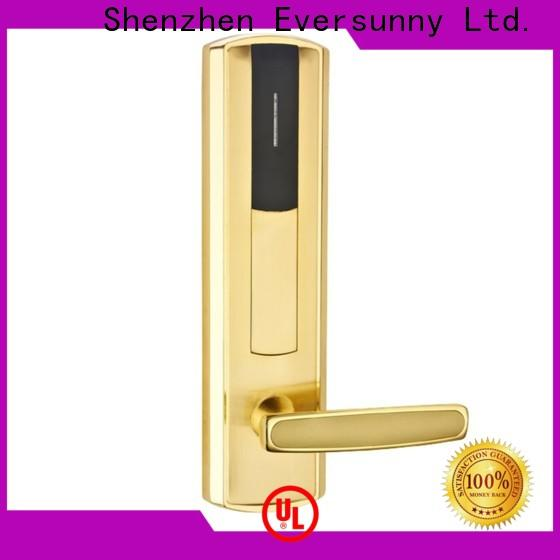 convenient card lock with central management control system for hotel
