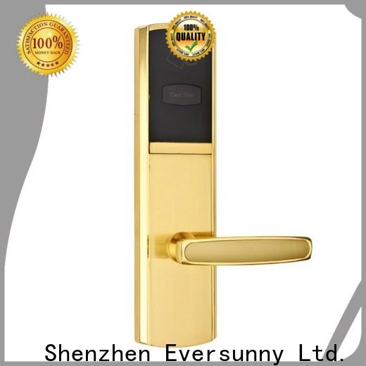 Eversunny reliable electronic door locks with card reader energy-saving for hotel