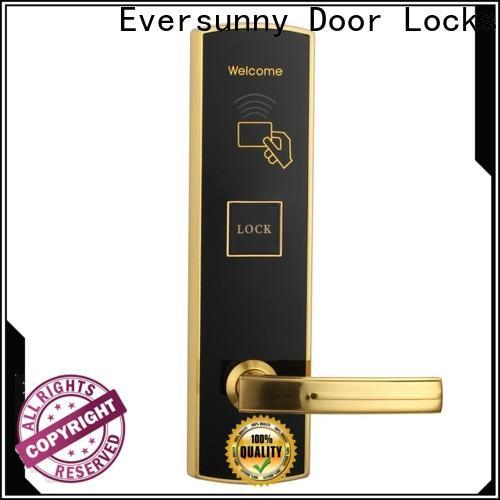 safe rfid card door lock energy-saving for door