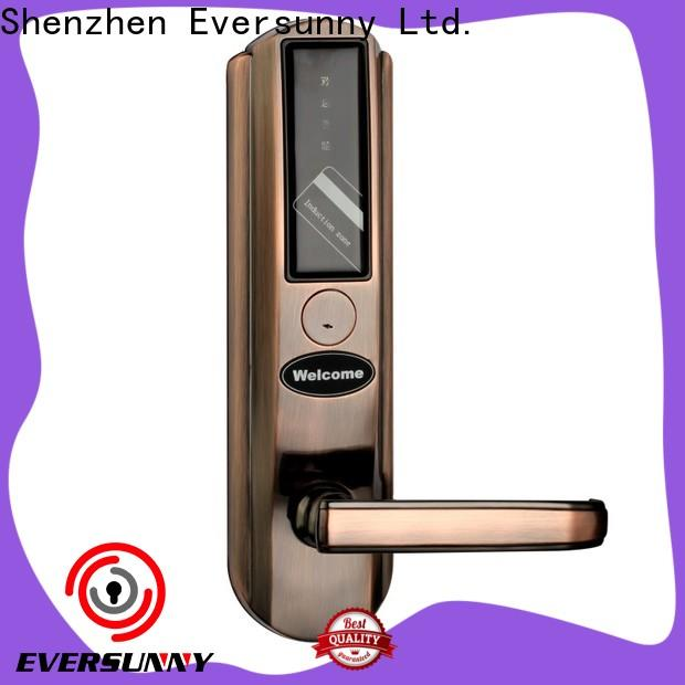 Eversunny card door entry system with central management control system for hotel