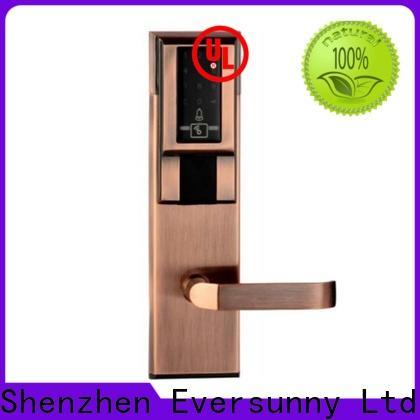 Eversunny pin code door lock touch screen for hotel
