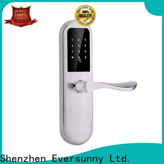 Eversunny security punch code door locks energy-saving for apartment