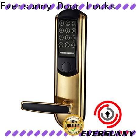 Eversunny pin code door lock touch screen for apartment