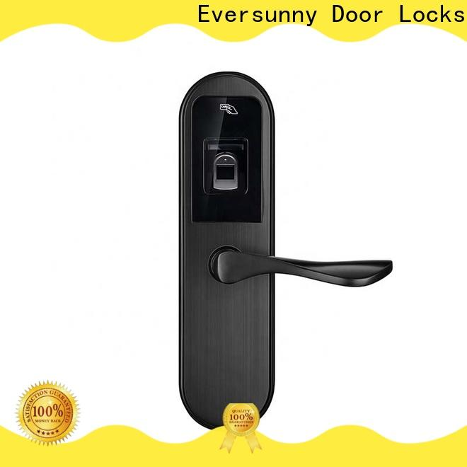 Eversunny thumbprint security fingerprint lock interior rooms for apartment
