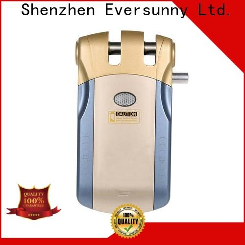 Eversunny electronic door lock with remote control good quality for cottage