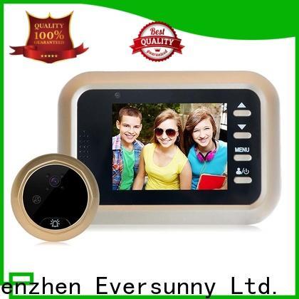 Eversunny electronic best digital door viewer with wide angle for Aluminum alloy door