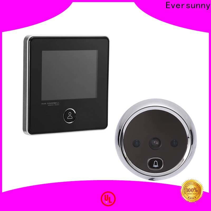 Eversunny best digital peephole power-saving for sliding door