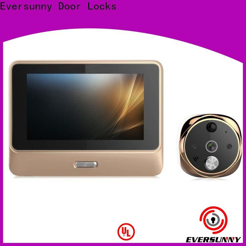 Eversunny wifi peephole viewer high reliability for peepholecam