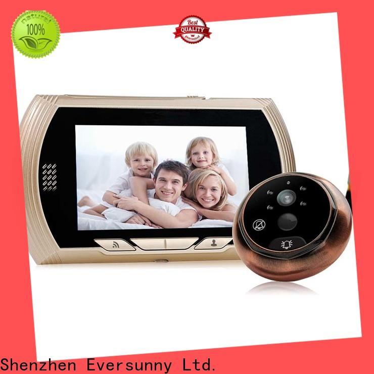 smart digital door viewer wifi high reliability for doorbell camera