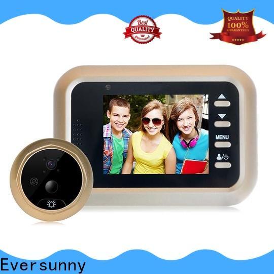 Eversunny digital peephole door viewer with motion sensor manufacturer for front door