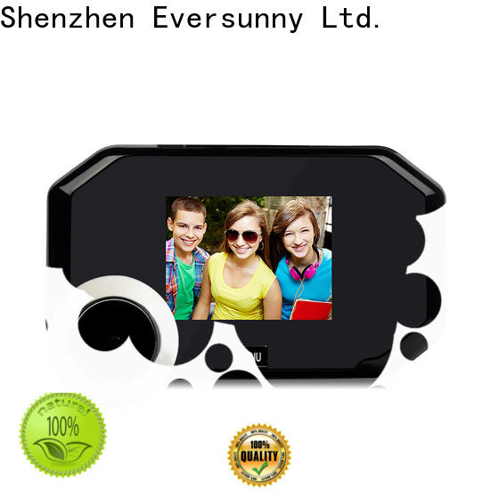 Eversunny visual front door viewer energy-saving for apartment