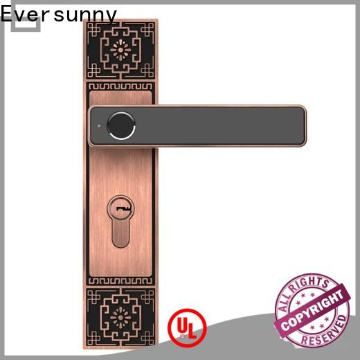 Eversunny best new fingerprint lock deadbolt