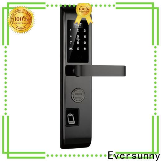 Eversunny safe fingerprint deadbolt touch screen for cottage