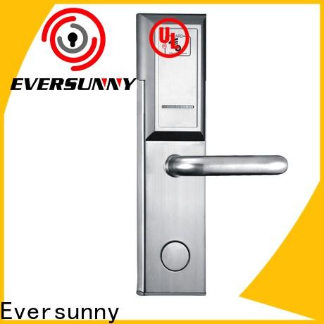 Eversunny hotel card lock system stainless steel for apartment