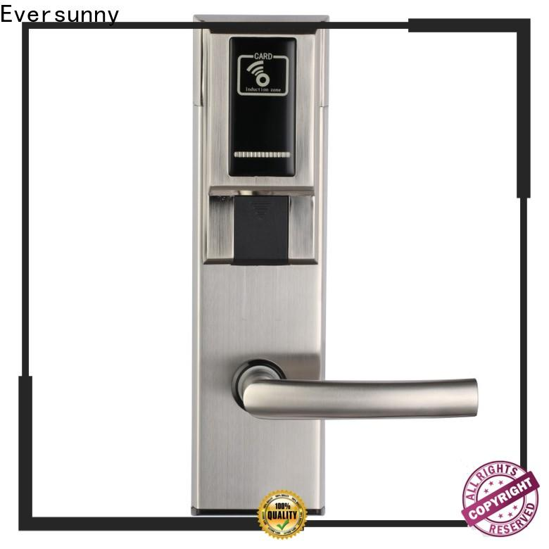 Eversunny rfid card door lock with central management control system for home