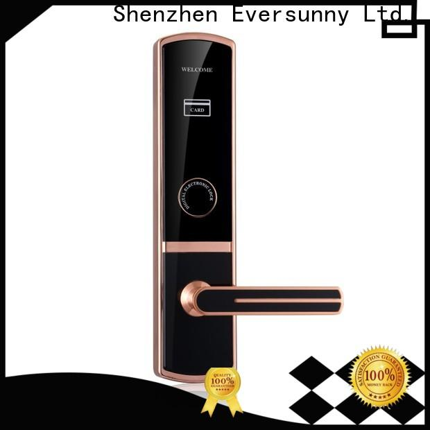 smart electronic door locks with card reader energy-saving for hotel