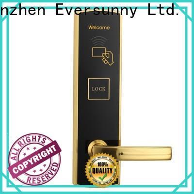Eversunny reliable swipe card door lock energy-saving for hotel