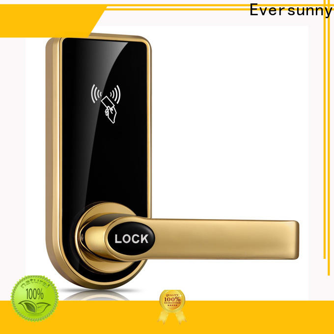 Eversunny fast key card door lock price energy-saving for hotel