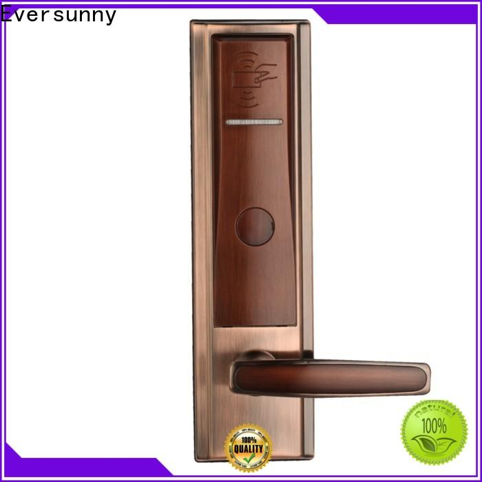 Eversunny practical door key card system stainless steel for apartment
