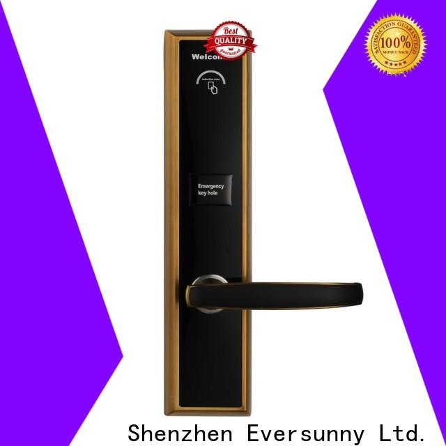 Eversunny rfid card door lock system international standard for apartment
