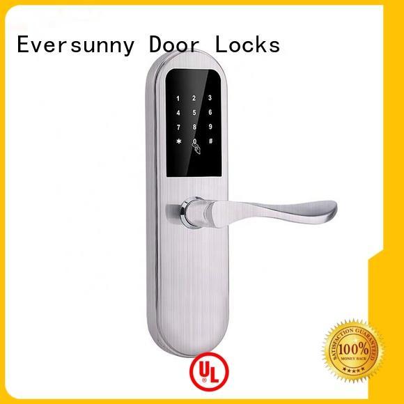 Eversunny rfid key code door lock smart for hotel